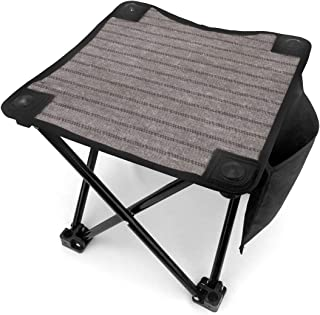 XWEGF Pointelle Jersey Knit Mini Stripes Grey Designer Fabric - Fabric.com Folding Stool Fishing Stool Portable Camping Stool with Carrying Travel Bag