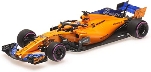 Minichamps McLaren F1 Team MCL33 No.47 Testing Abu Dhabi GP Formula 1 2018 (L.Norris)