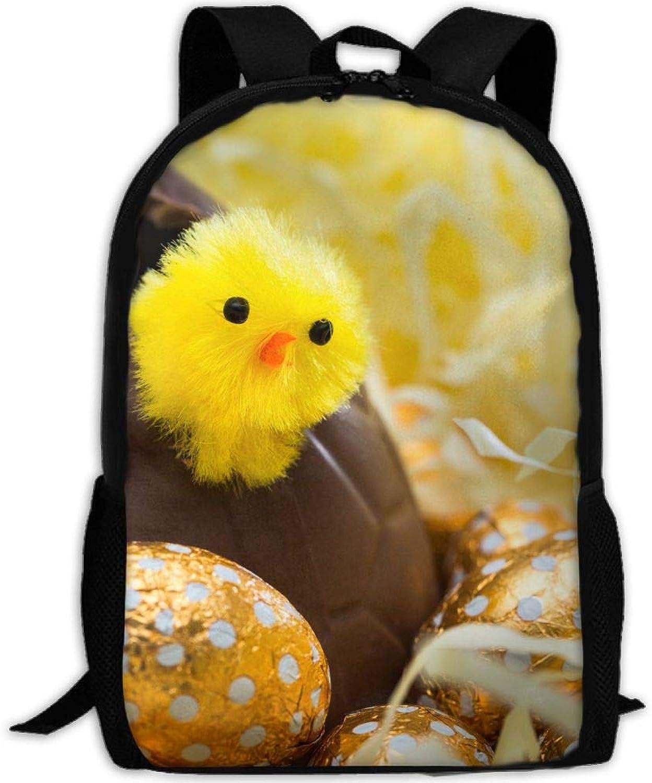 Backpack Briefcase Laptop Travel Hiking School Shoulder Bags Egg Bird Daypack