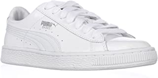 PUMA Women's Basket Matte and Shine Sneaker