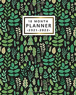 18 Month Planner: Amazing Forest Weekly Agenda, Diary, Calendar, Organizer | 2021-2022 18 Month Planner with To Do Lists, ...