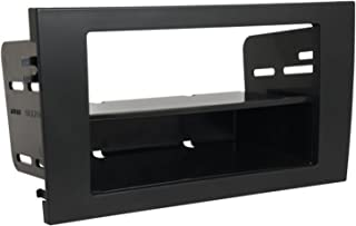 SCOSCHE AU2193B Single or Double DIN Car Stereo In-Dash Install Kit Compatible with 2002 to 2008 Audi A4/RS4 Vehicles