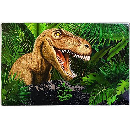Dino Dinosaurier T-Rex SCHREIBTISCHUNTERLAGE UNTERLAGE TISCHUNTERLAGE + Sticker von kids4shop
