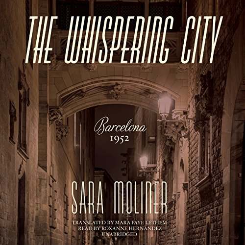 The Whispering City audiobook cover art