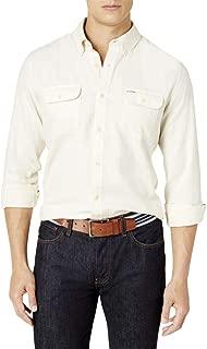 Tommy Hilfiger Men's Custom-Fit Ben Flannel Shirt