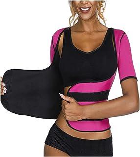 Magkontroll, midja cincher tränare trosor, kroppsskydd, neopren bastu svett midja tränare viktminskning korsett kontroll m...