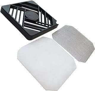 AERZETIX 2x Joint en caoutchouc 120x120mm pour grille de protection ventilation ventilateur bo/îtier ordinateur pc C42216