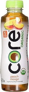 Core Organic Fruit Infused Beverage, 16.9 Fl Oz, Peach Mango (Pack of 36)