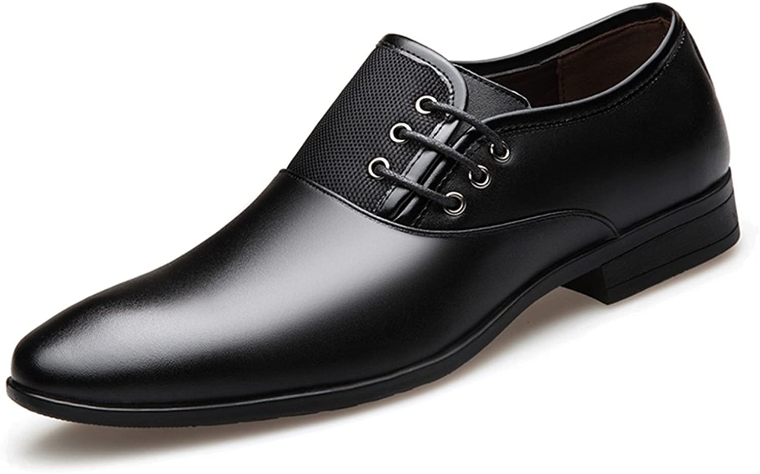 Amazn Men's shoes, Mens Business shoes Leather Pointed Toe Formal shoes Dress Wedding shoes Large Size Black, Brown Spring Fall,shoes
