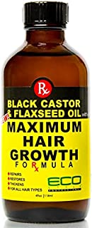 Best castor oil and flaxseed oil for hair growth Reviews
