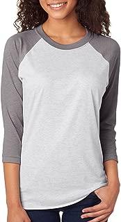 Next Level Unisex 3/4-Sleeve Raglan T-Shirt