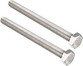 Class 8.8 M36-4.0 X 120mm Hex Cap Screws Fully Threaded Zinc Plated Steel