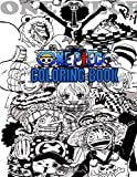 One Piece Coloring Books: Anime Coloring Books for Luffy and Friends Fans and  for kids 8.5x11 size +60 PAGES .