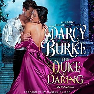 The Duke of Daring audiobook cover art
