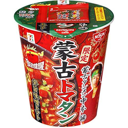 【販路限定品】日清食品 蒙古タンメン中本 蒙古トマタン 112g×12個