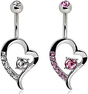 Best floating navel piercing jewelry Reviews