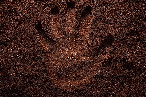 100% natürlichen Wurmhumus kaufen - 20 Liter - Humus Erde Wurmdünger Wurmerde Naturdünger Komposterde (20 Liter)