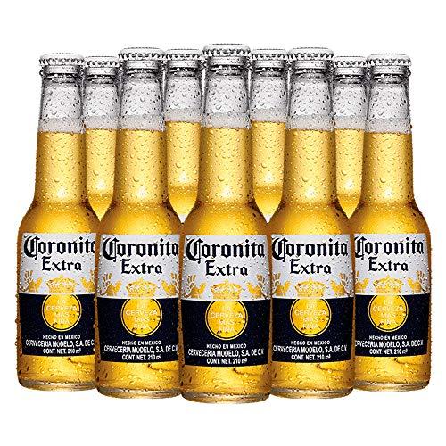 Cerveza Corona Cuartito 12 Botellas de 210 ml