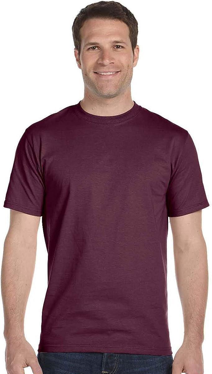Hanes Men ComfortSoft TShirt XL, Maroon