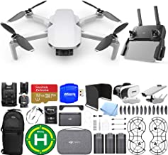 $589 » DJI Mavic Mini Fly More Combo with 12MP/2.7K Quad HD 3-Axis Gimbal Camera 3 Battery (Total) Action Bundle Includes: 32GB MicroSD Card, Sling Backpack, Landing Pad, Drone Vest + Much More