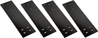 """Fastcap - 3-1/2"""" x 12"""" Speedbrace for Granite Counter-top Support, 300 Pound Load Capacity, Black , 4-Pack - 08176"""
