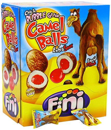 Fini Camel Balls - Kaugummi - Bubble Gum - Box mit 200 Stück