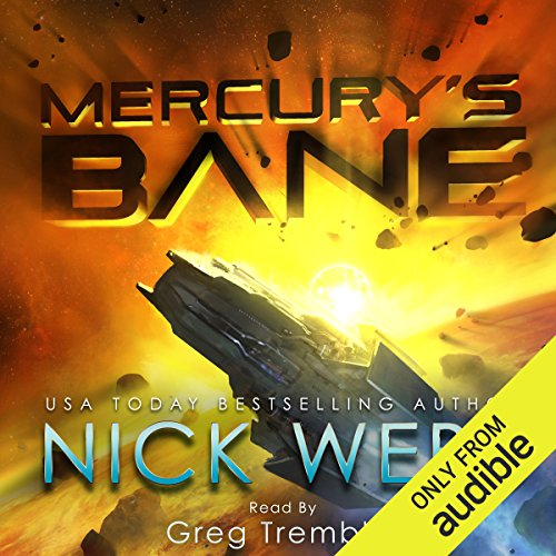 Mercury's Bane audiobook cover art