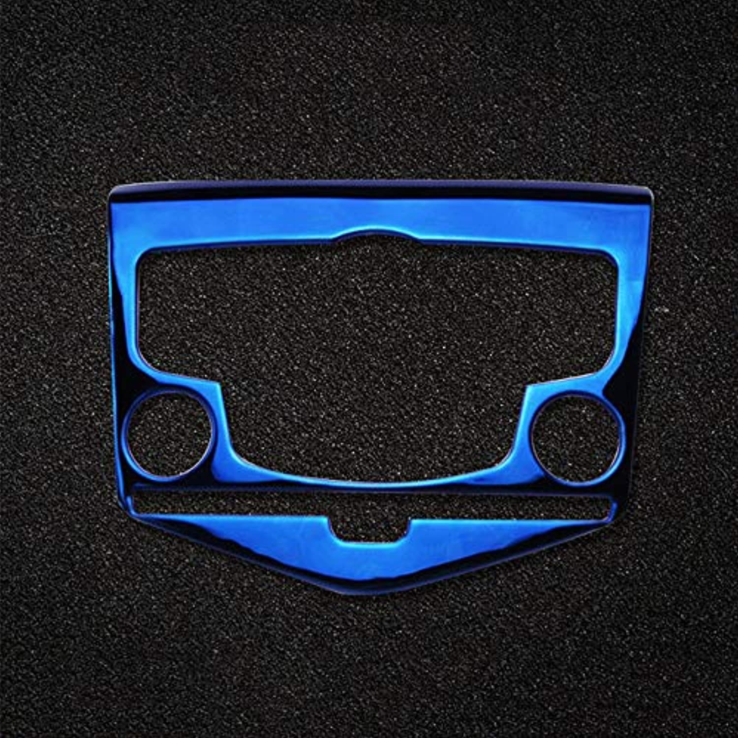 Stainless Air Condition Panel Control Covers Trim for Chevrolet Cruze 20102015  (color Name  bluee)