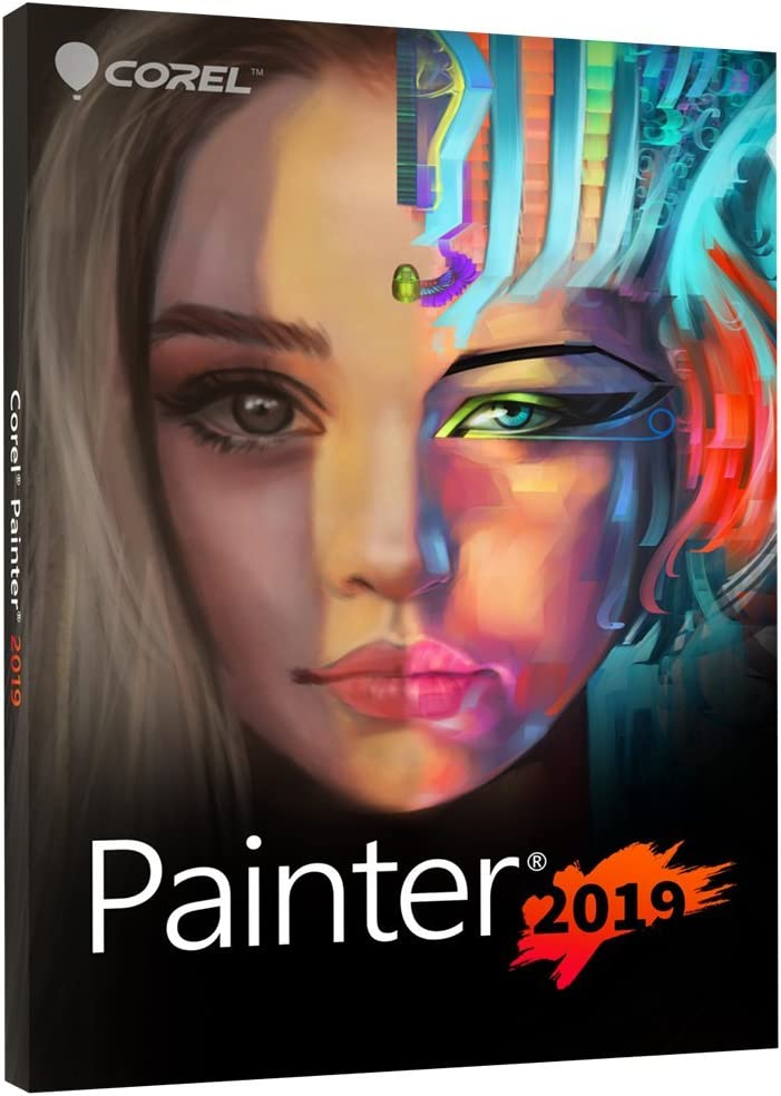Corel Painter 2019 Digital Art Suite Disc PC Max 44% OFF Mac Version Complete Free Shipping OLD