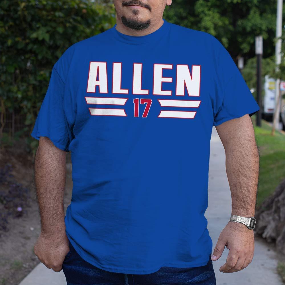 Allen-17 Buffalo-Football Jersey Fans Playoff Touchdown Josh-QB Houston Mall Washington Mall