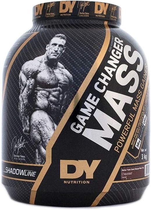 proteine in polvere doryan yates confezione da 3 kg con 56 g di proteine per 200 g  - dy nutrition b07g8pknfw