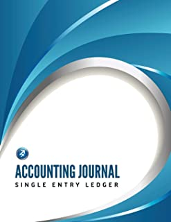 Accounting Journal: Single Entry Ledger