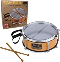 The Sales Partnership Reig Snare Drum with Drumsticks and Strap
