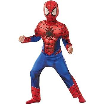 Rubies 640841S SPIDERMAN Marvel - Disfraz infantil de Spider-Man ...