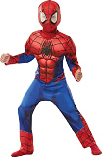 Rubie's 640841 Spiderman Marvel Spider-Man Deluxe Child Costume, Boys (Small)