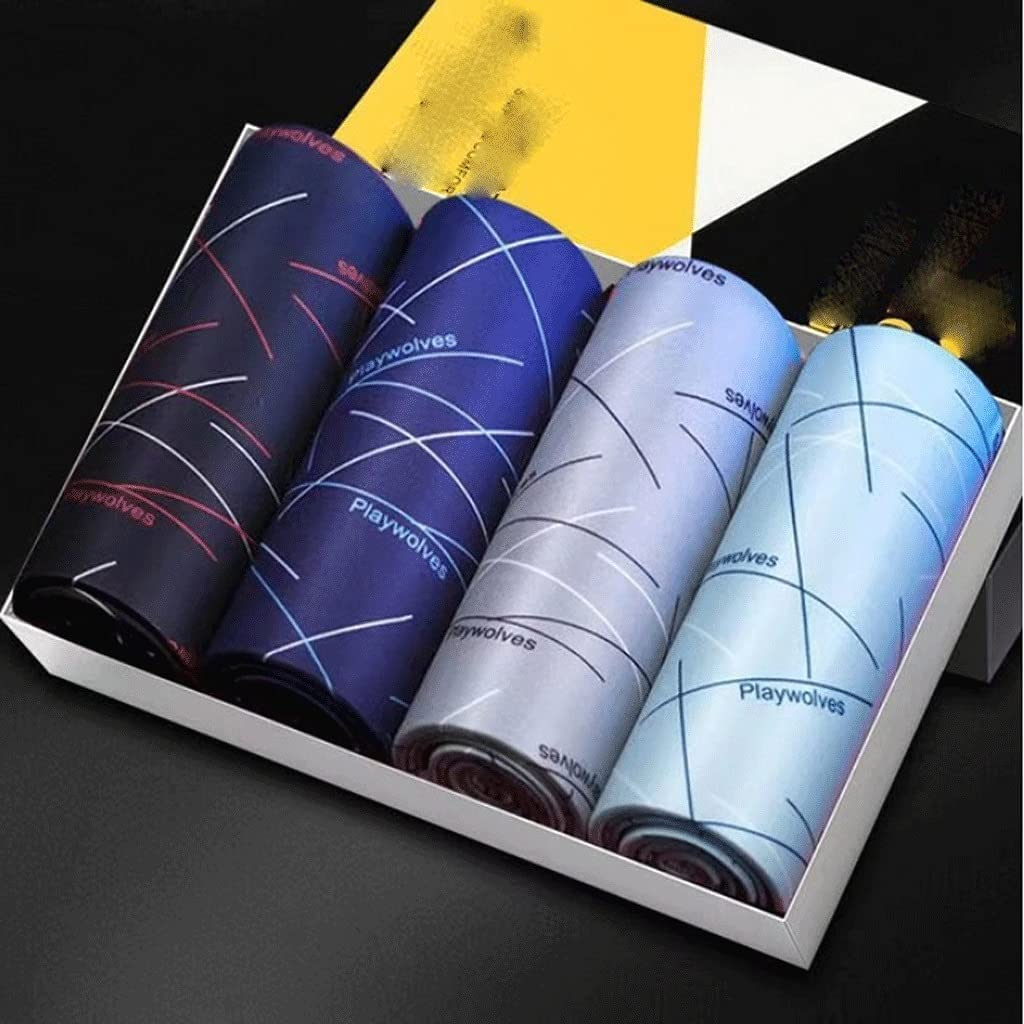 JJZXC Men's Underwear Boxers Man Panties Breathable Sexy Daily bargain sale Printed Los Angeles Mall