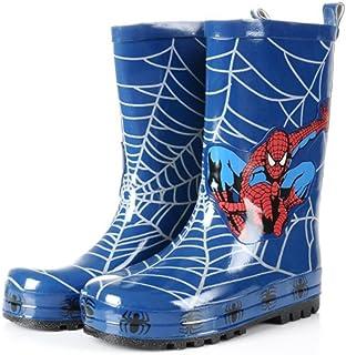 Spider-Man Boy Kids Wellington Boots Wellies Rain Boot (Toddler/Little Kid)