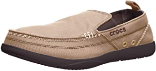 Crocs Men's Walu Canvas Slip-On Loafer