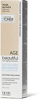 AGEbeautiful Pearl Blonde Permanent Liqui-Creme Topcoat Toner Pearl Blonde