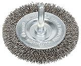 BOSCH, 2608622121, Spazzola a disco, acciaio inossidabile, filo ondulato, 0,3 mm, 70 mm, 1...