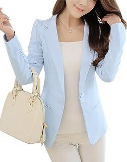 promo code c413d 7c7ef Amazon.it: giacca azzurra - Tailleur e giacche / Donna ...