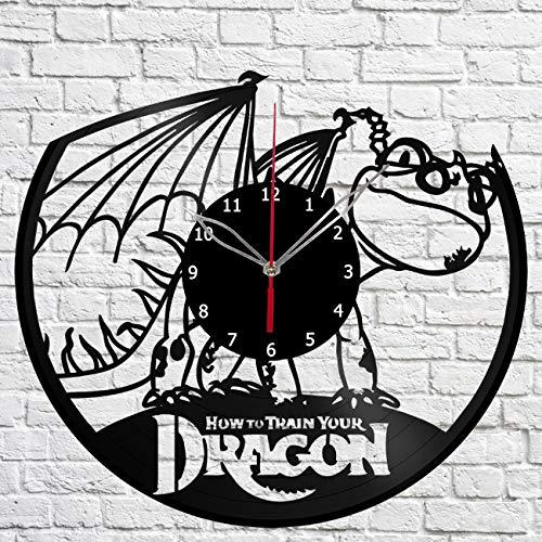 Vinilo Como Entrenar A Tu Dragon  marca Clock Art Decor