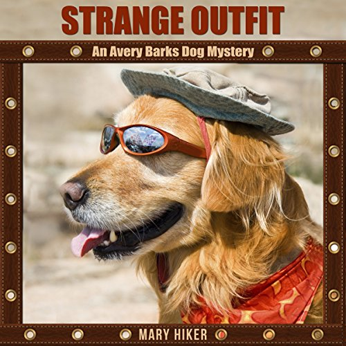 Strange Outfit audiobook cover art