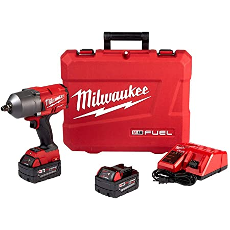 """Milwaukee 2767-22 Fuel High Torque 1/2"""" Impact Wrench w/ Friction Ring Kit"""