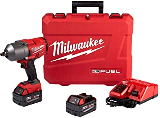 "Milwaukee 2767-22 Fuel High Torque 1/2"" Impact Wrench w/ Friction Ring Kit"