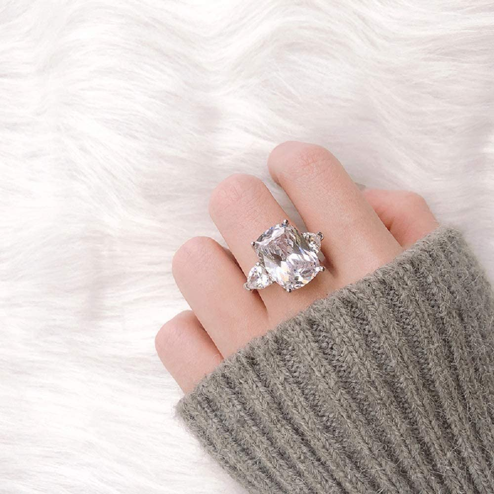 Very popular Luxury Jewelry Fashion Imitation 5 2021 model Diamond Carat Ste Moissan 925