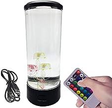 POHOVE Dimbare kwallen lamp met afstandsbediening,Elektrische kwallen Lamp Fantasy Led kwallen Nachtlampje Mood Lamp,USB o...