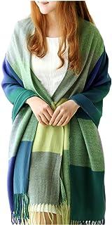XDGOOD Pashmina Scarf & Fine Soft Comfortable Cashmere Shawl, Premium Large Scarf Women Scarves, Wraps Womans Warm, 75.6 X...