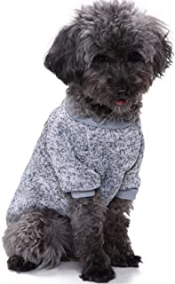 CHBORLESS Pet Dog Sweater Warm Dog Pajamas Soft Cat Sweater Puppy Clothes Small Dogs Sweater Winter Doggie Sweatshirt