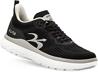 Gravity Defyer Women's G-Defy XLR8 Running Shoes 9.5 W US - VersoCloud Multi-Density Shock Absorbing Performance Long Distance Running Shoes Black, Silver